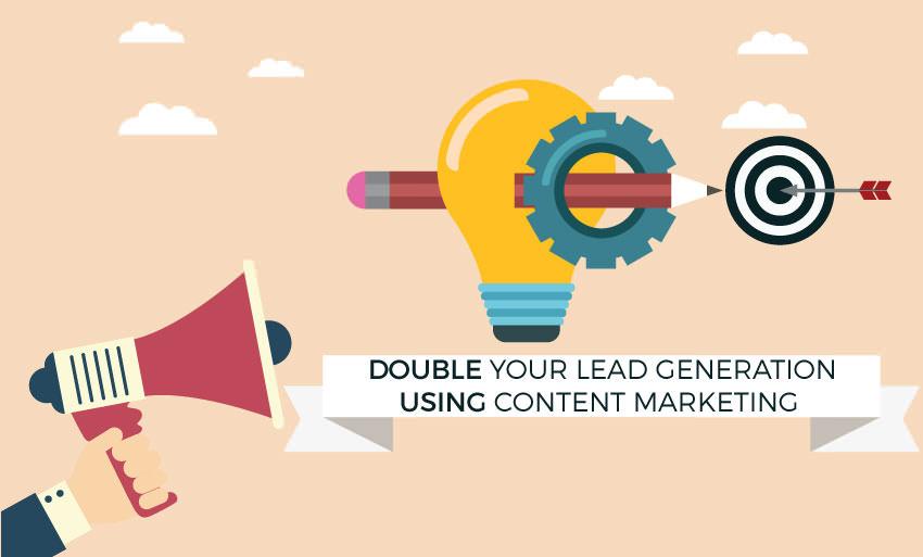 super simple content marketing hacks double lead generation