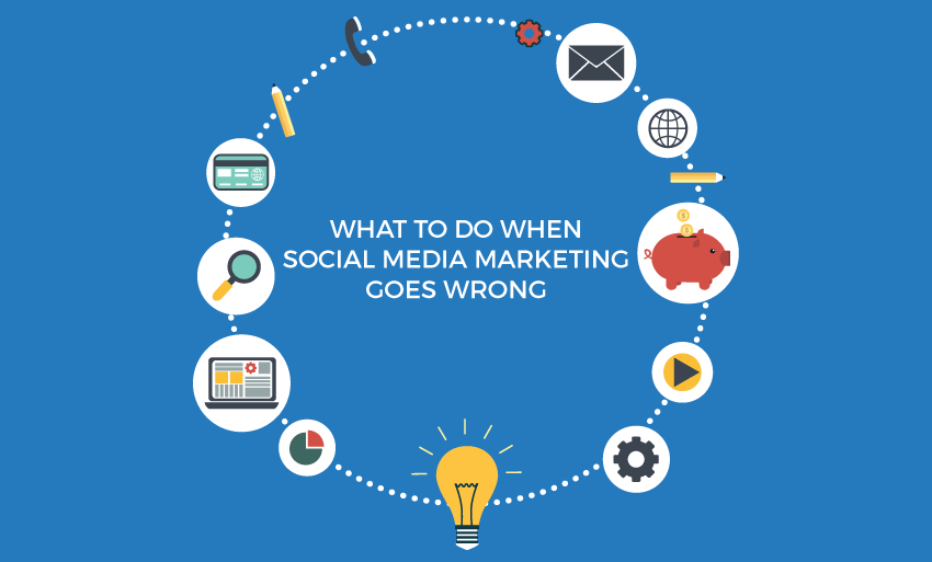 what to do when social media marketing goes wrong