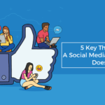 key things social media manager