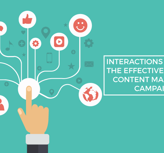 interactions gauge effectivess content marketing campaign