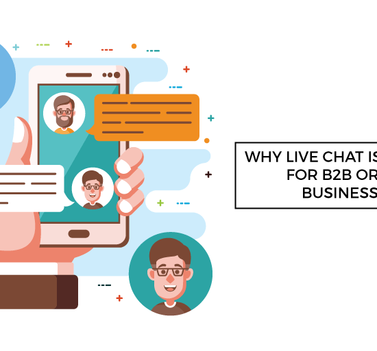 live chat critical b2b b2c businesses